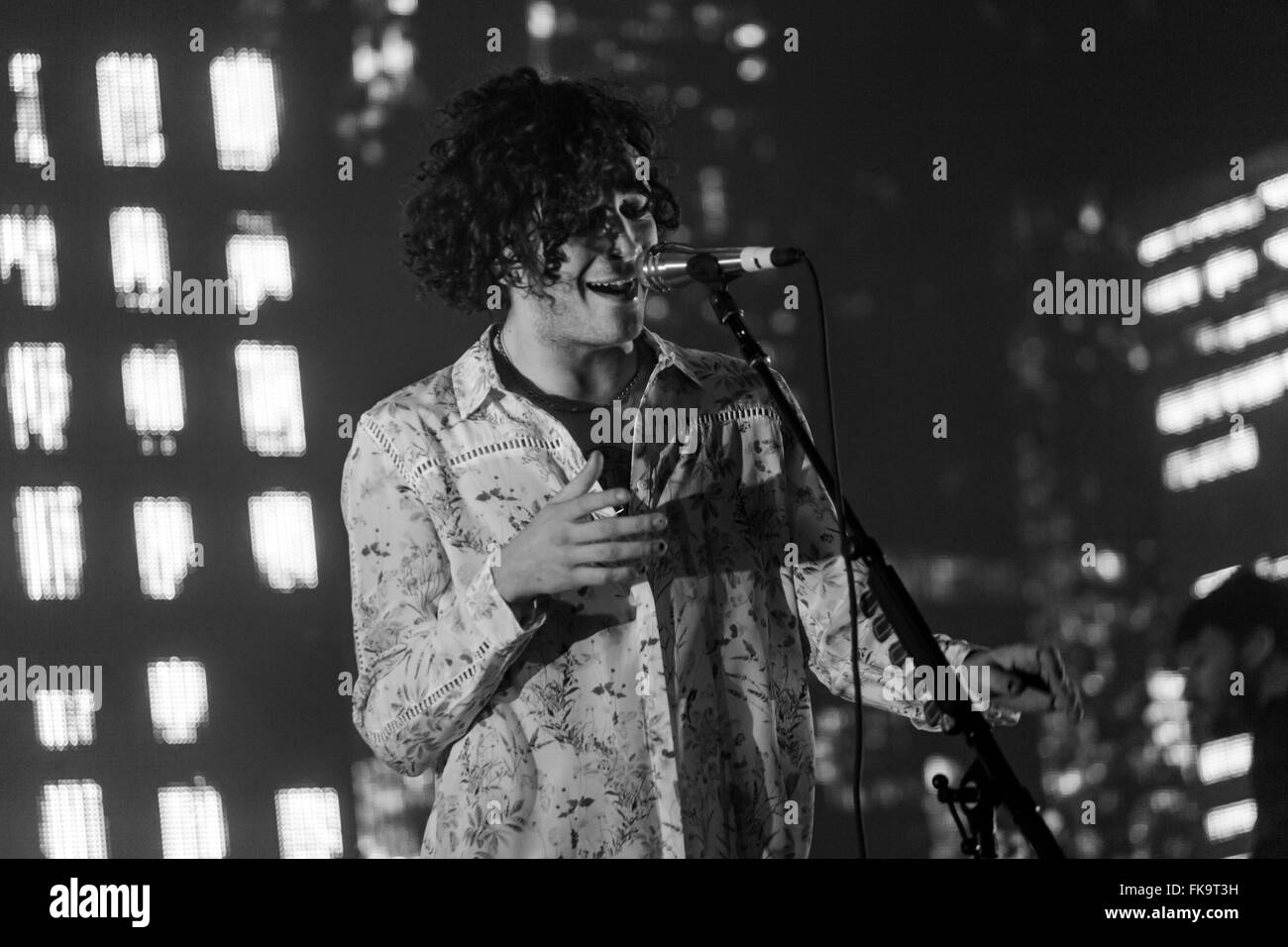 London, UK, 7th March 2016. The 1975 Live Performance at o2 Brixton Academy. © Robert Stainforth/Alamy Live News Stock Photo