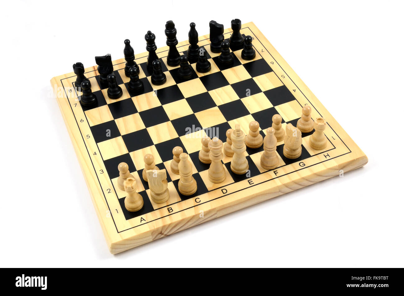 A games of chess - Stock Image