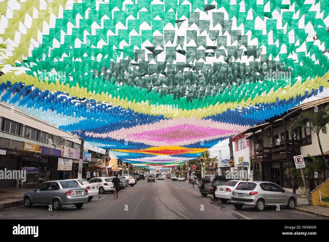 Avenida Getulio Vargas trimmed to Jerk - Stock Image