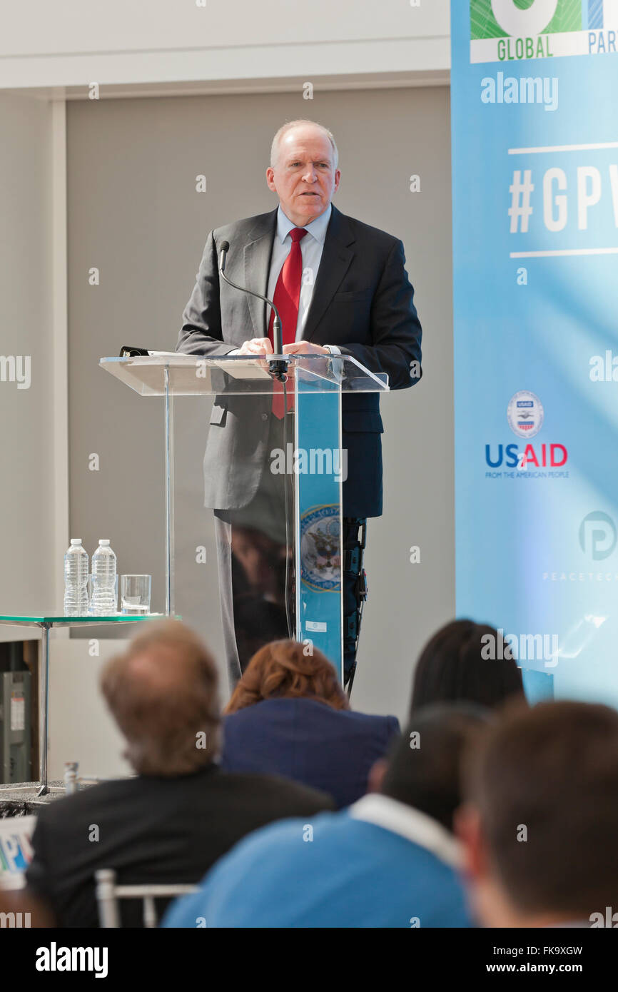 Washington, DC, USA. 7th March, 2016. The U.S. Department of State, in collaboration with Concordia, USAID, and - Stock Image
