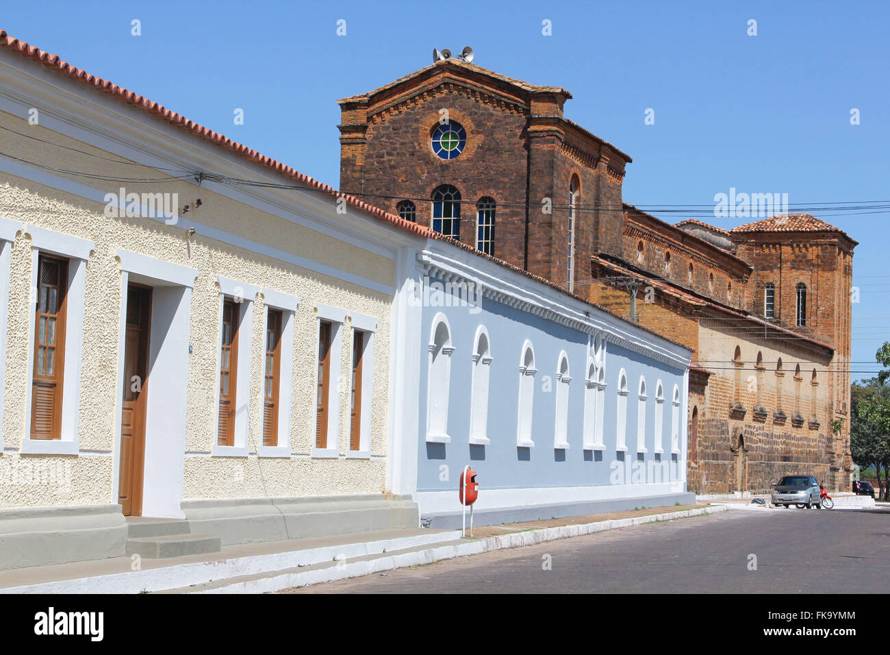 Home of Directors of the Diocese and Cathedral of Our Lady of Merces Incidental - Stock Image