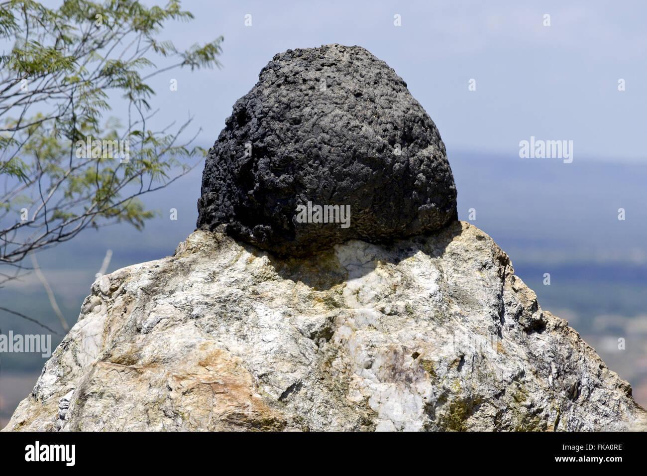 Mound rock - Stock Image