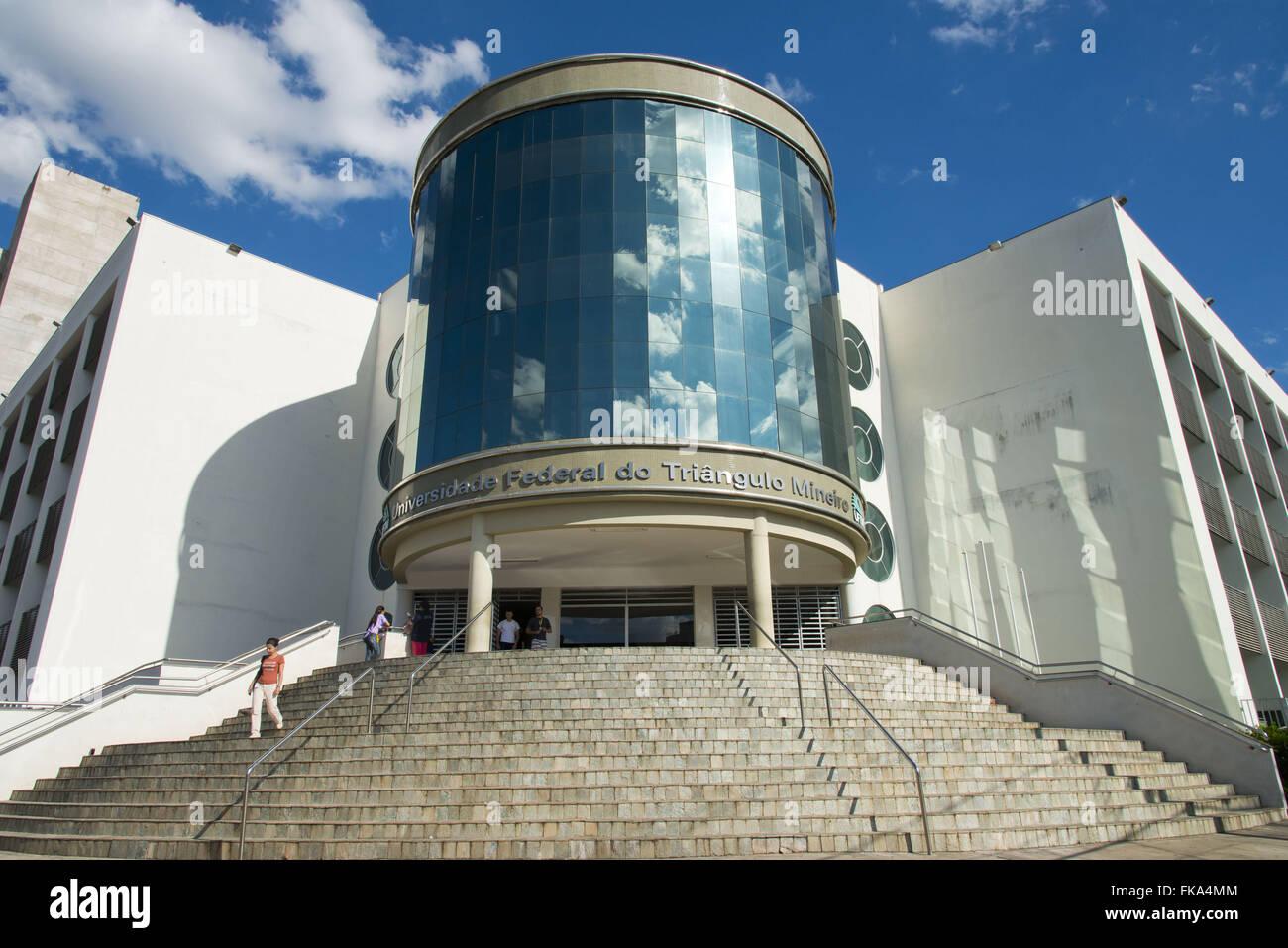 Federal University of Triangulo Mineiro - the UFTM Educational Center Stock Photo