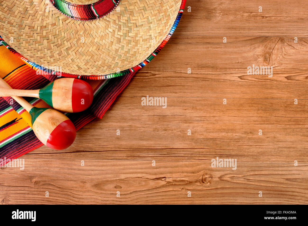 Mexican Straw Hat Food