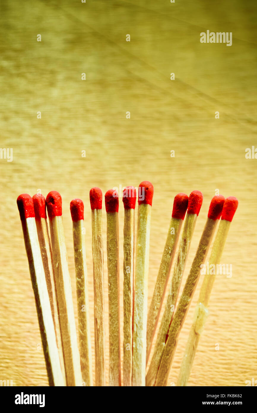 Matches - Stock Image