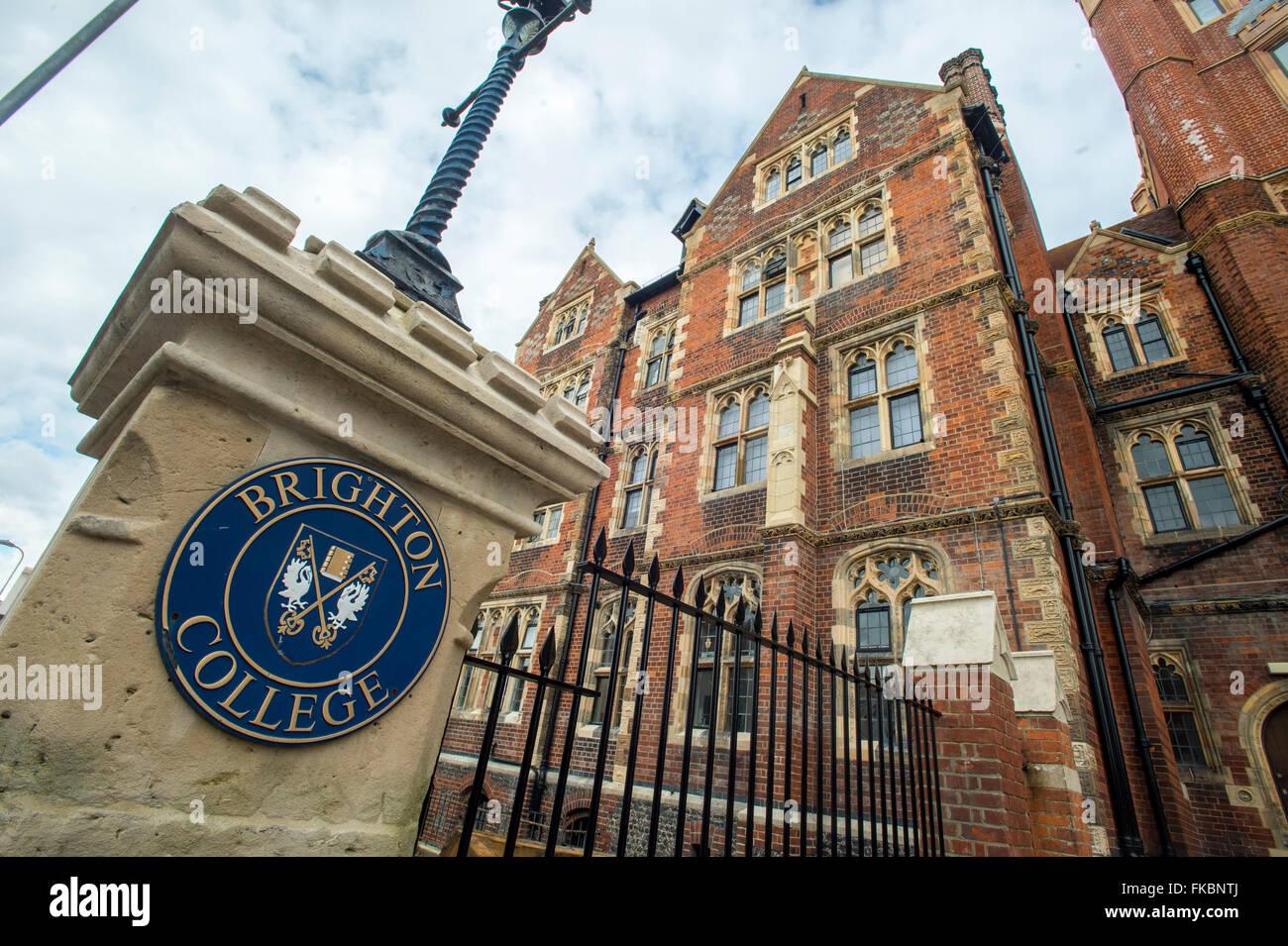Brighton College - Stock Image