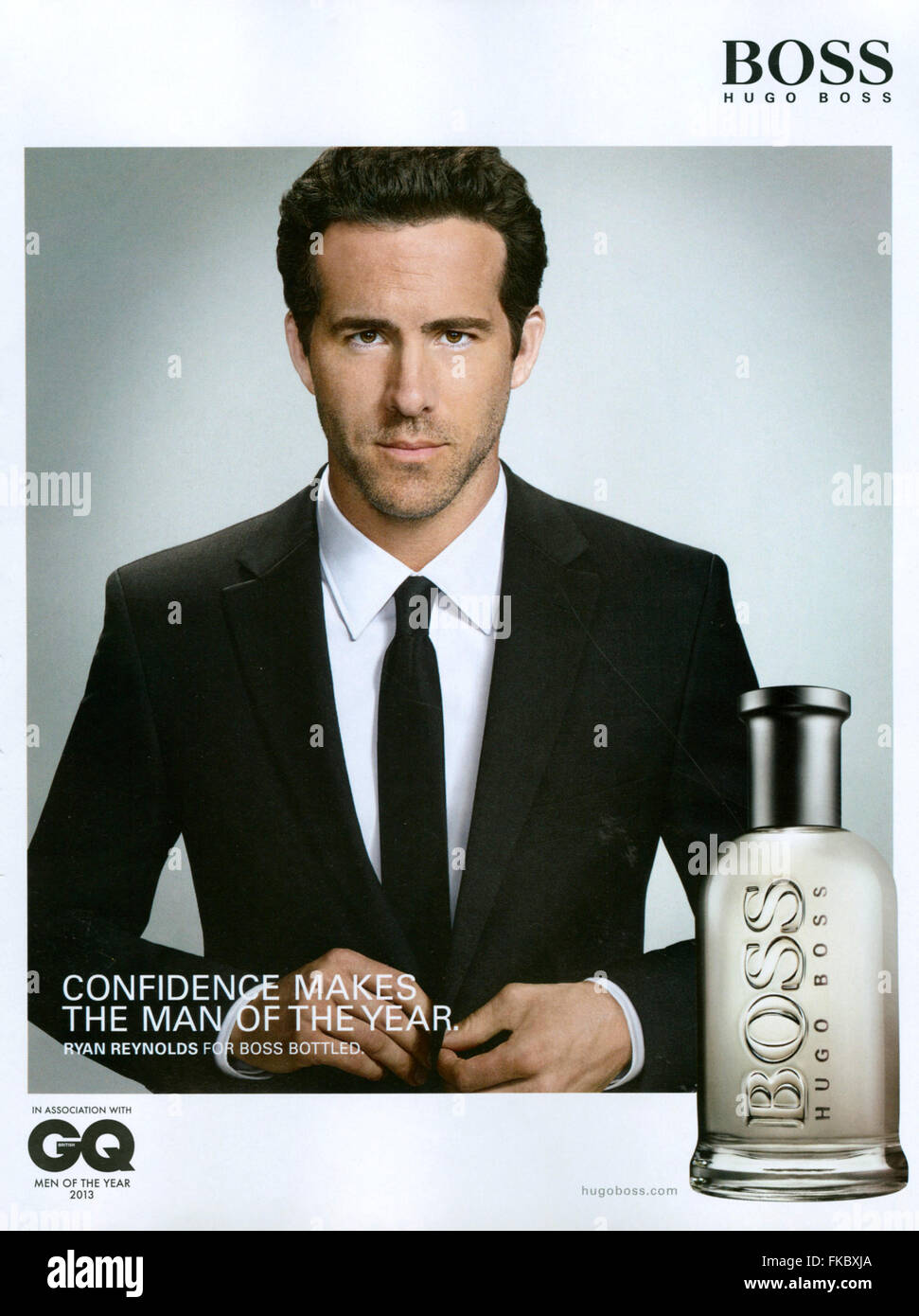 Boss Hugo men ad pictures