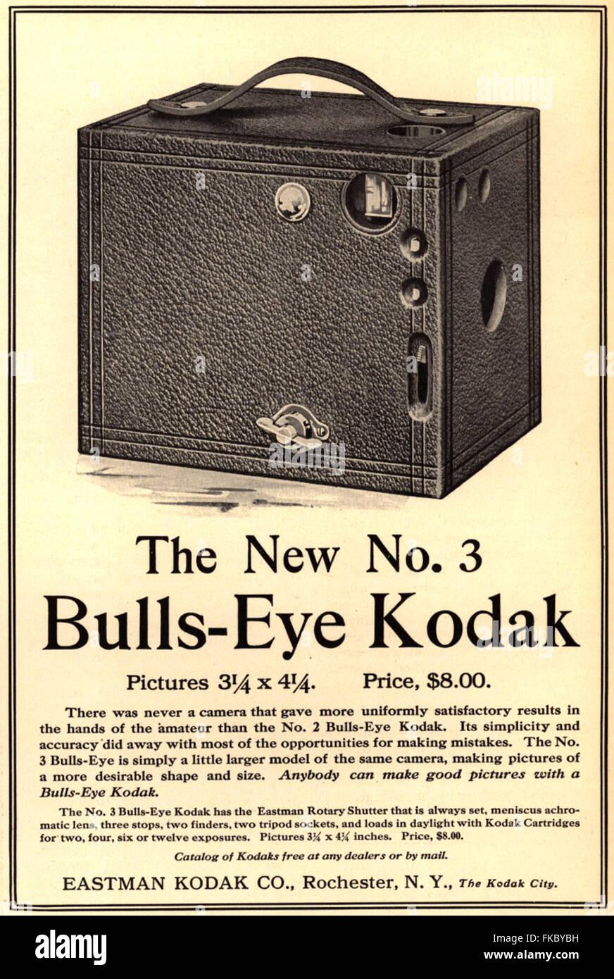 USA Kodak Magazine Advert - Stock Image