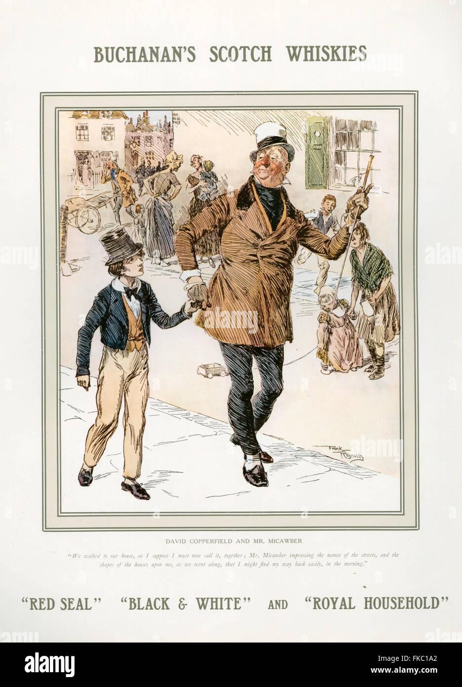 UK Buchanan's Magazine Advert - Stock Image
