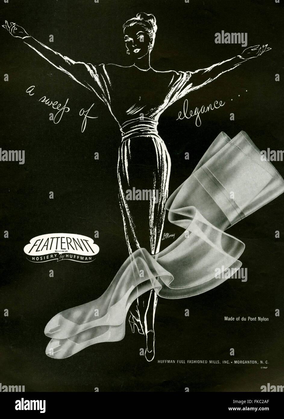 1940s  Huffman Magazine Advert - Stock Image