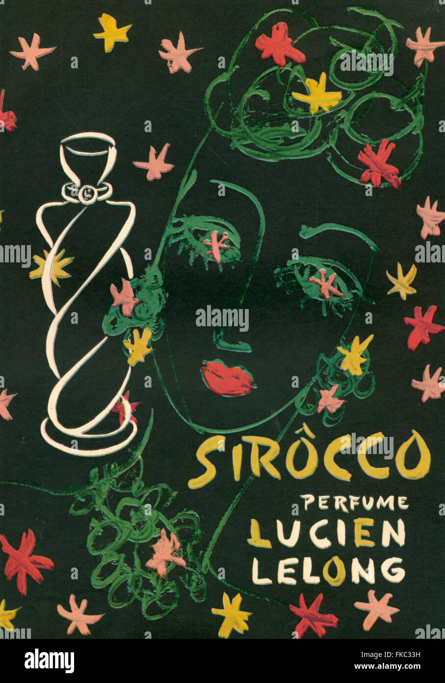 1940s USA Lucien Lelong Magazine Advert