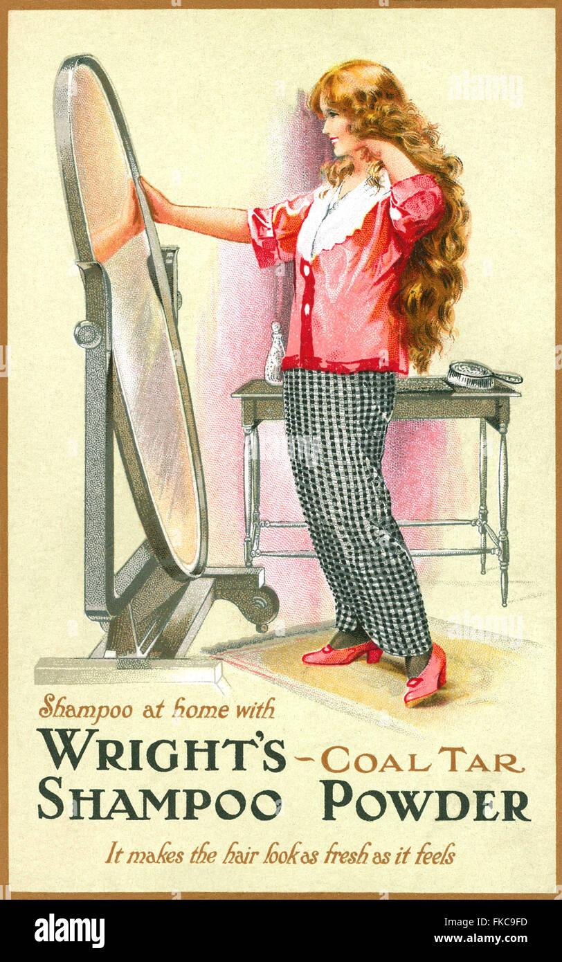 UK Wrights Magazine Advert - Stock Image