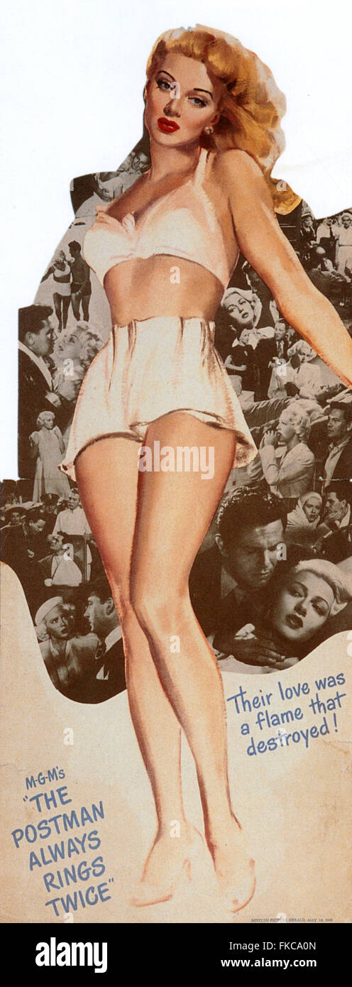 1940s USA The Postman Always Rings Twice Promotional Image - Stock Image