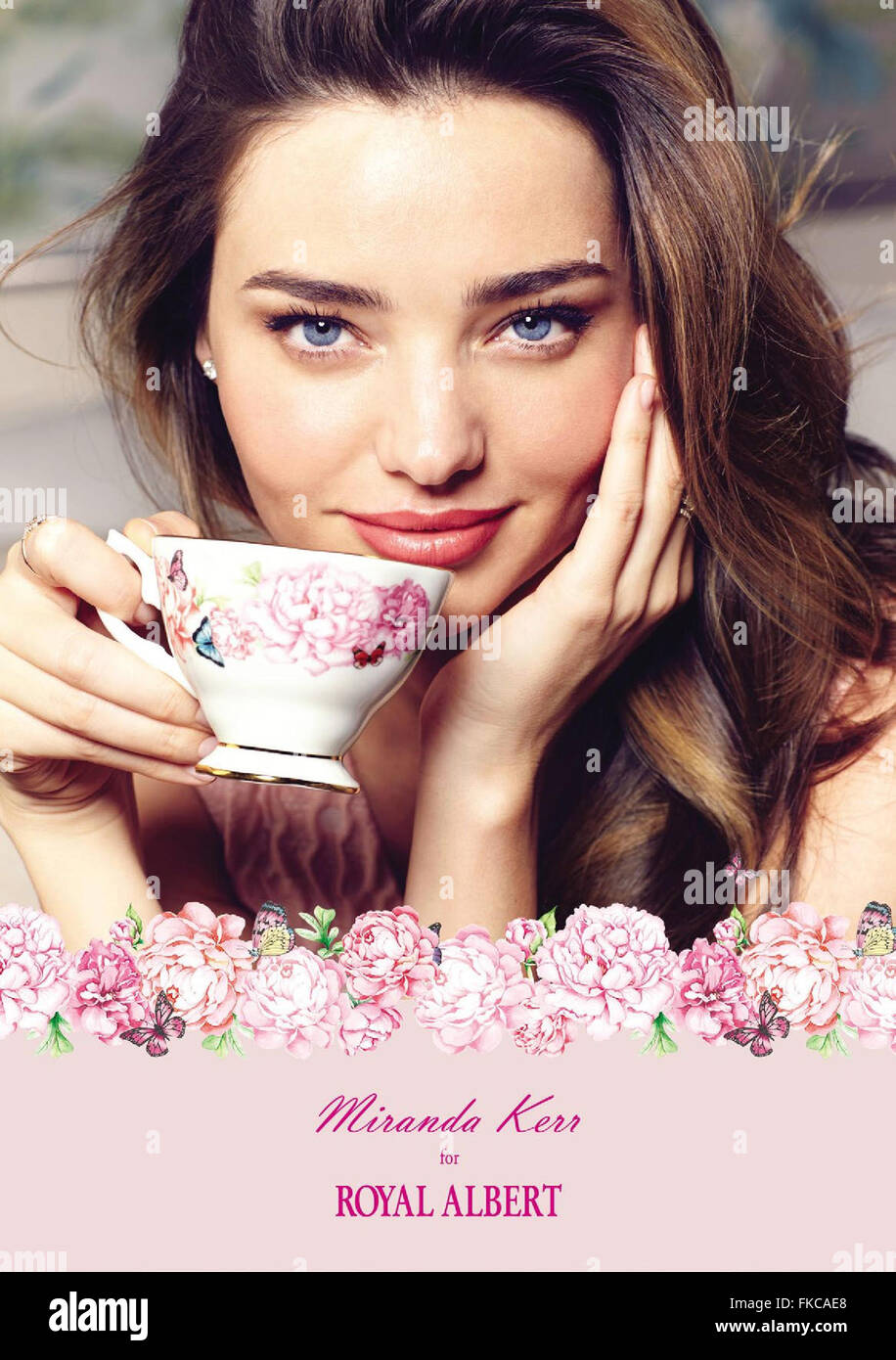 2010s UK Royal Albert Magazine Advert - Stock Image