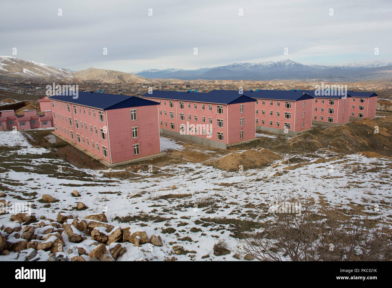 housing project in Northern Iraq Stock Photo