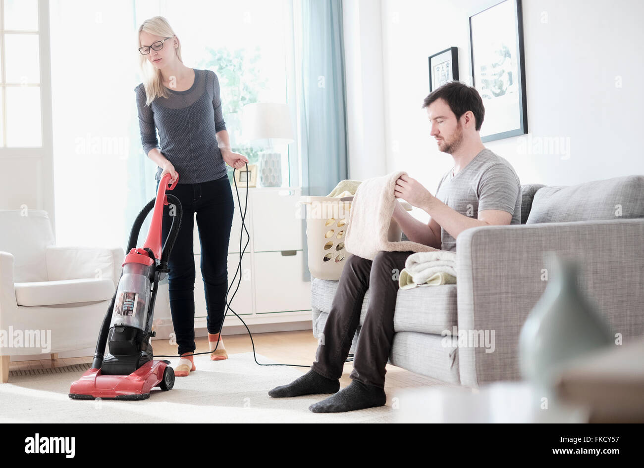 Cleaning Room High Resolution Stock Photography And Images Alamy