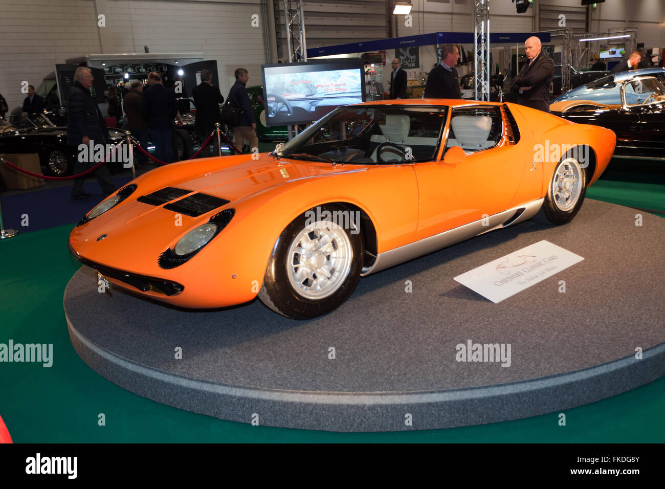 The Original 1968 Italian Job Lamborghini Miura P400 Making Its