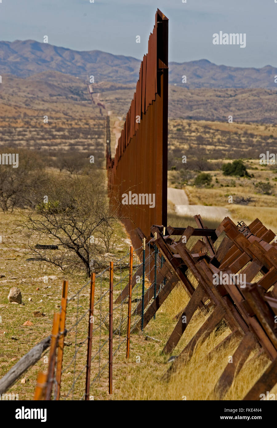 us fence in the border of mexico essay Donald trump has set his plan for a us-mexico border wall in motion but who will end up paying for it.