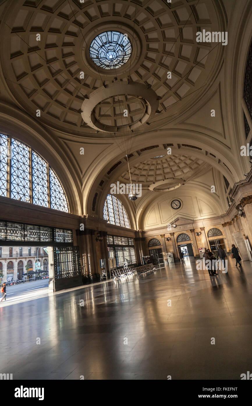 Estació de França, Barcelona. - Stock Image