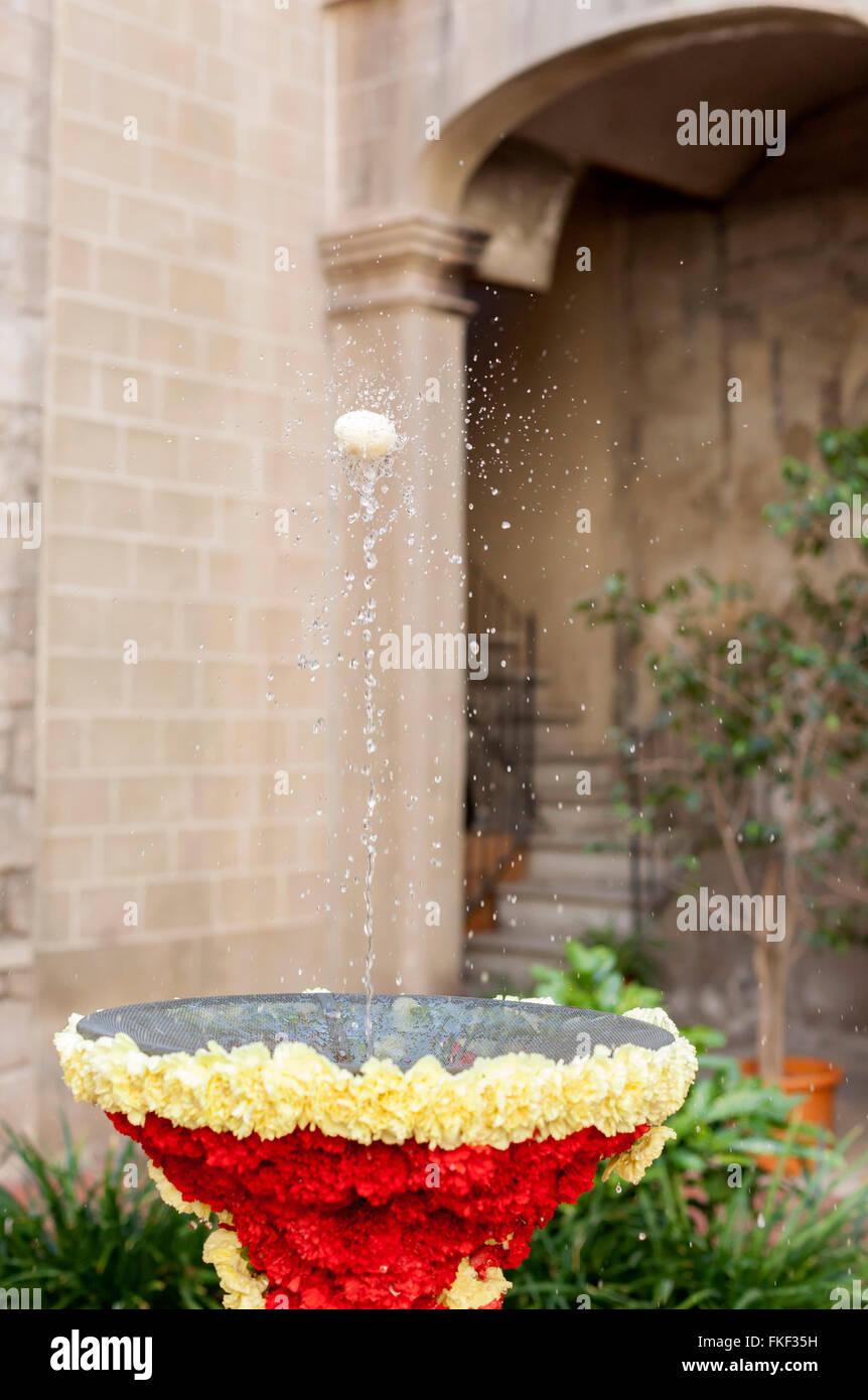'L´ou com balla' en Palau Requesens- Reial Academia de bones lletres. Barcelona. - Stock Image
