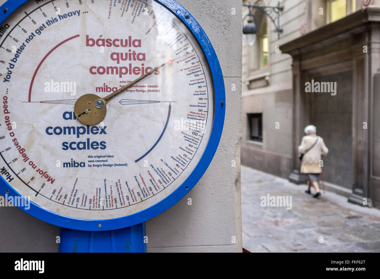 Bascule(designed by Angry Design)  MIBA, Museu d´Idees i Invents de Barcelona, Barcelona. - Stock Image
