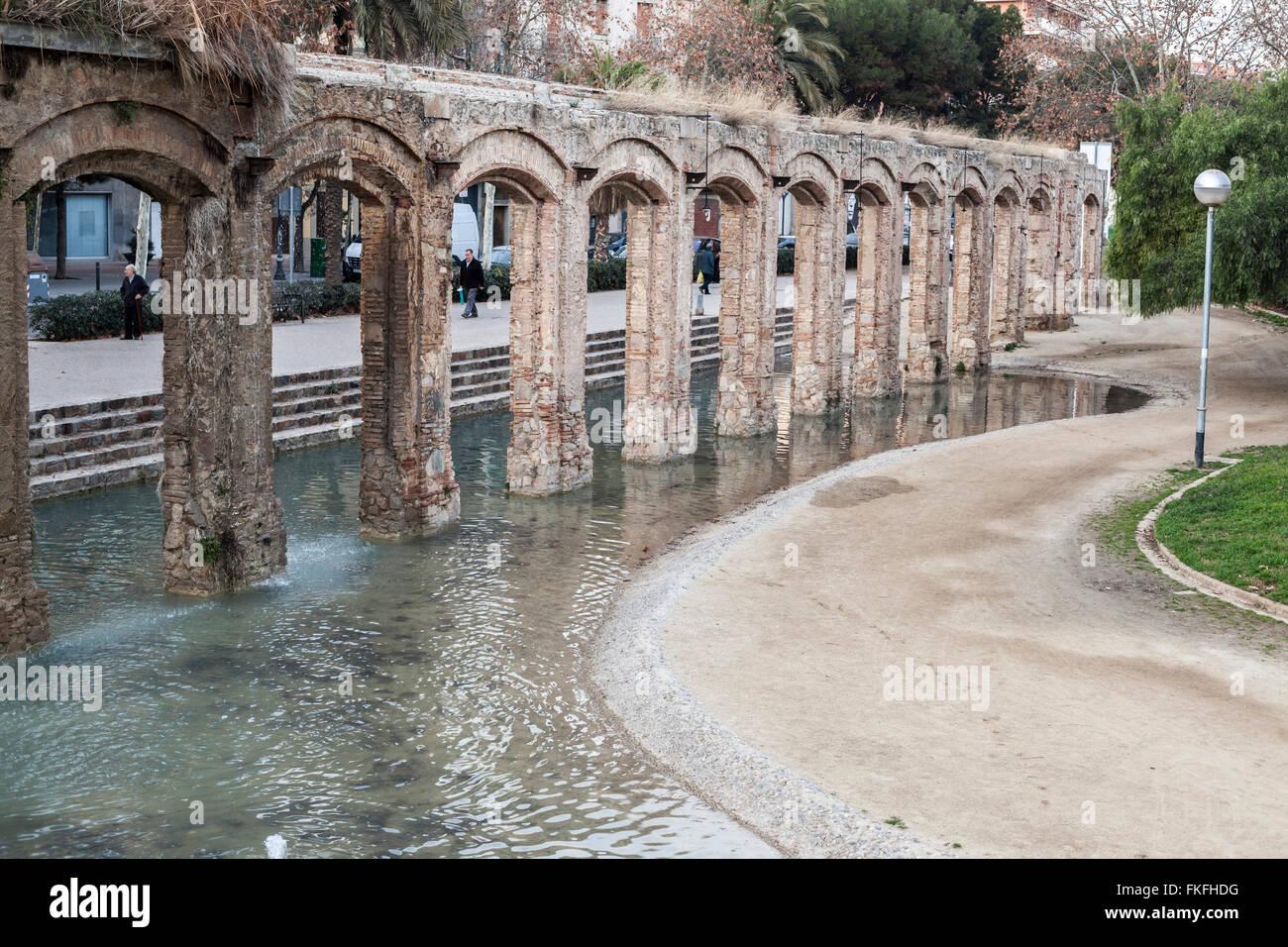 Parc del Clot, Barcelona. - Stock Image