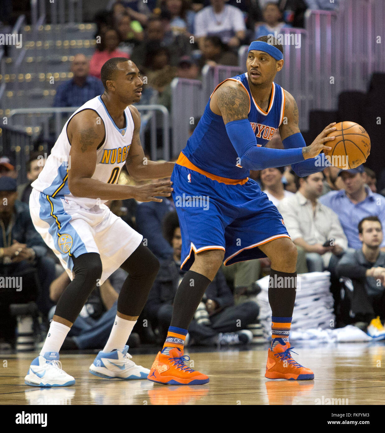 Denver Nuggets Stock Photos And Pictures: Carmelo Anthony Nuggets Stock Photos & Carmelo Anthony