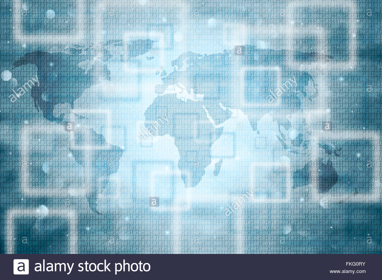 Creative world map abstract background stock photos creative world blurred abstract world map with binary numbers background conceptual world map with binary code background gumiabroncs Choice Image