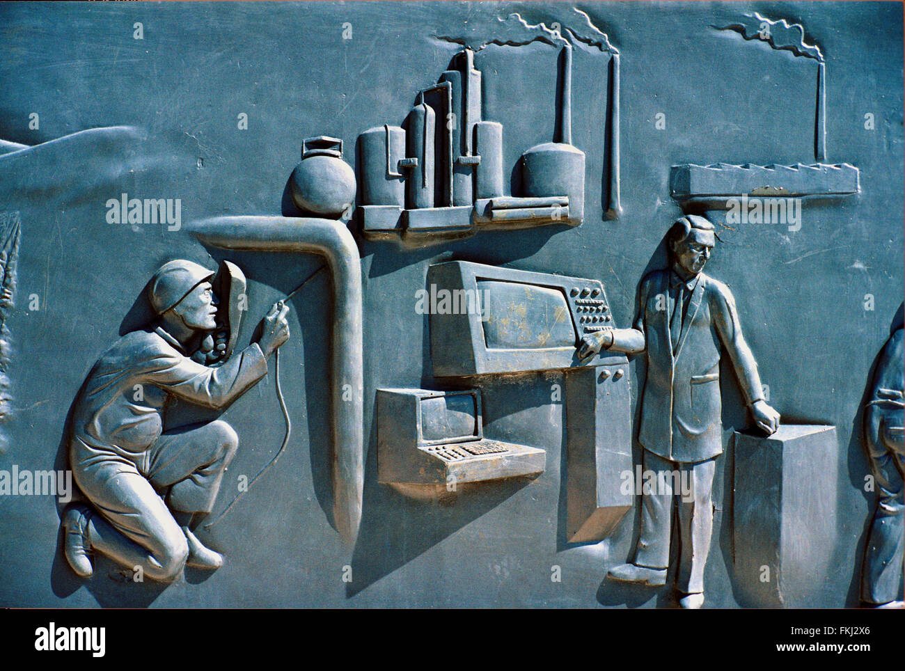 nationalist art or bas relief of modern factory scene a nationalist stock photo alamy https www alamy com stock photo nationalist art or bas relief of modern factory scene a nationalist 98127742 html