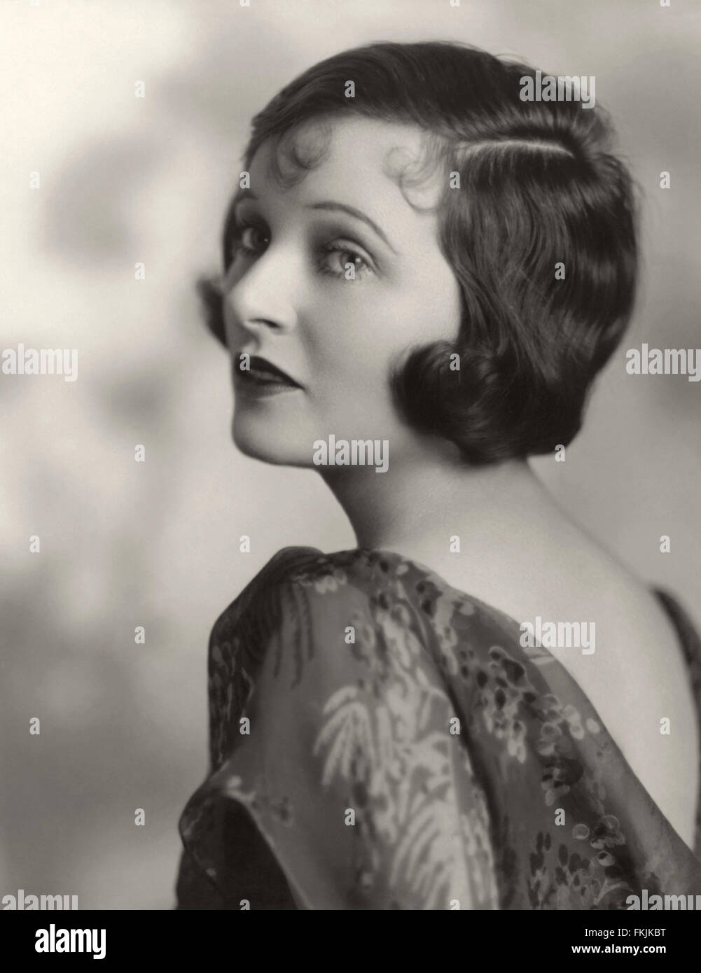 Portrait of Griffith Corinne_ - Stock Image