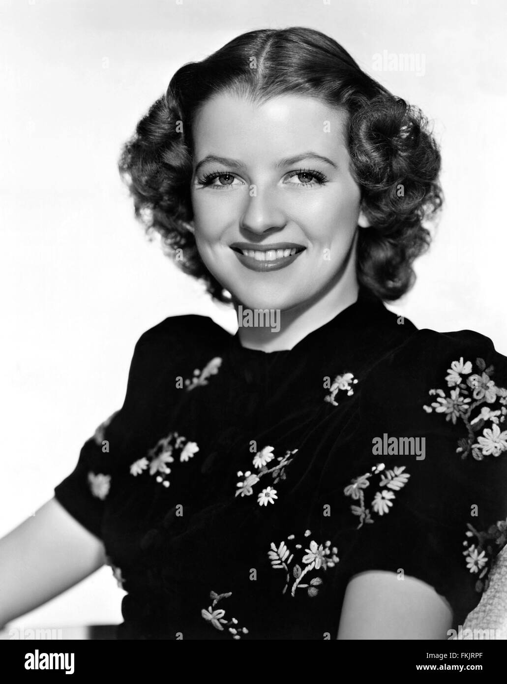 Portrait of Furness Betty - Stock Image