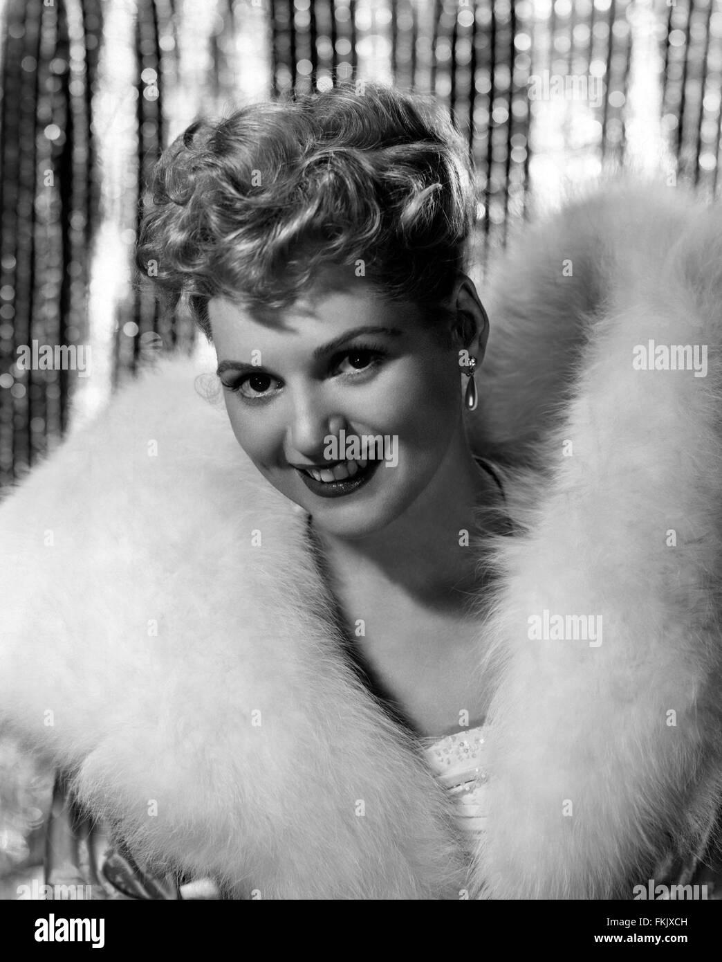 Portrait of Holliday Judy - Stock Image