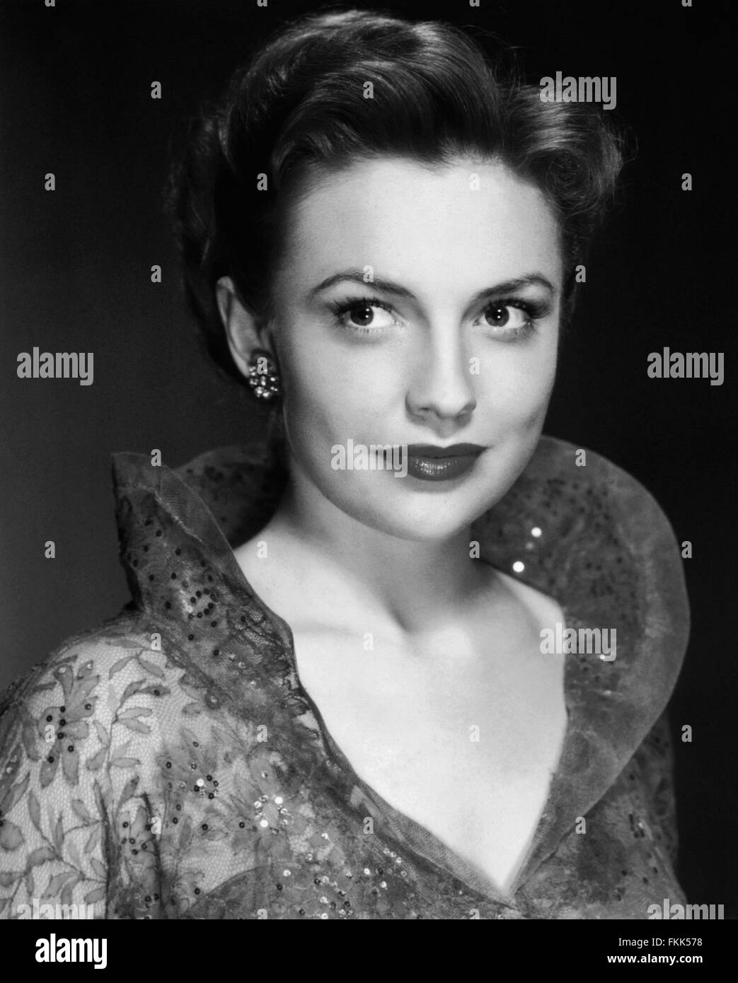 Portrait of Leslie Joan - Stock Image