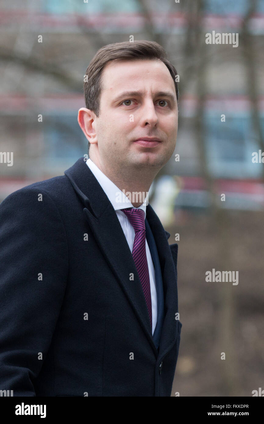 Warsaw, Poland. 9th March, 2016. Leader of Polish People's Party (PSL, Polskie Stronnictwo Ludowe), Wladyslaw - Stock Image