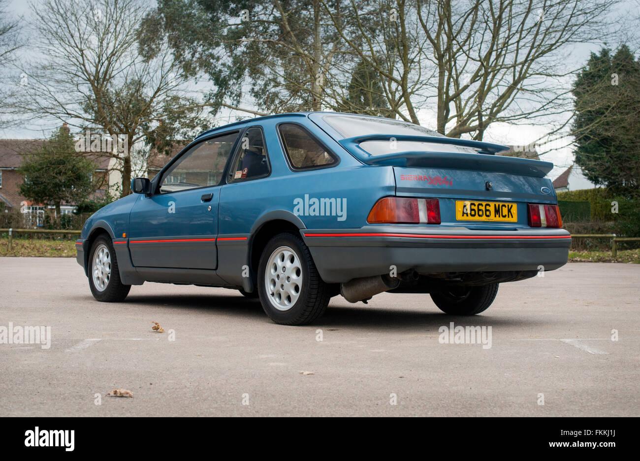1983 Ford Sierra XR4i car sold in America as the Merkur XR4Ti - Stock Image