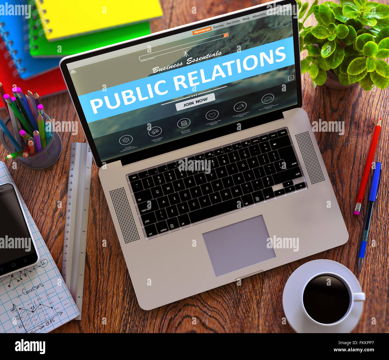 Public Relations. Promotion Concept. - Stock Image