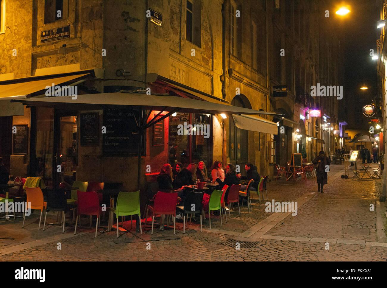 Bordeaux,France: St Pierre district - Stock Image