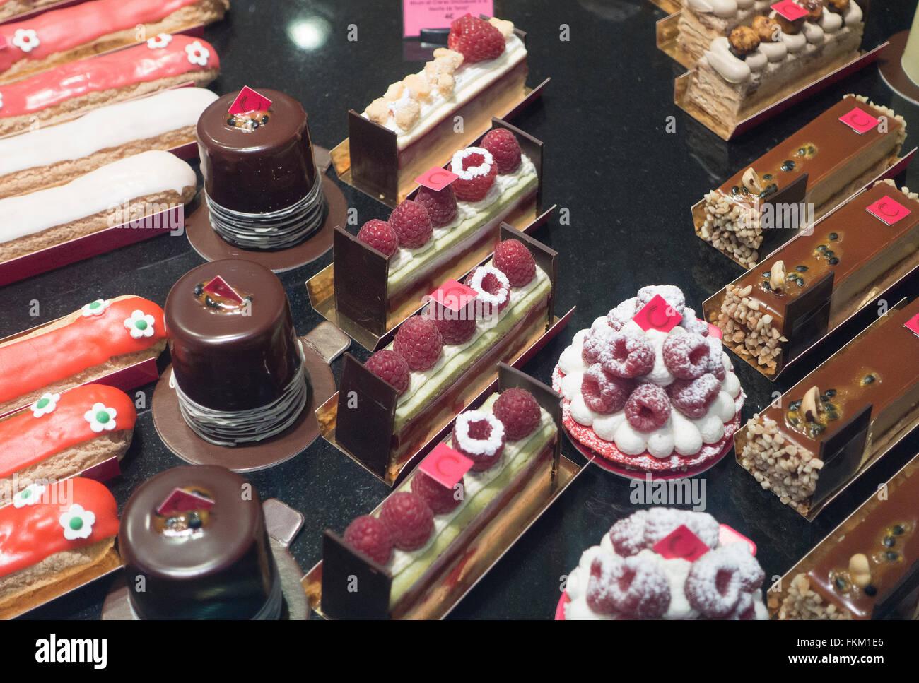 Bordeaux,France: patisserie shop - Stock Image