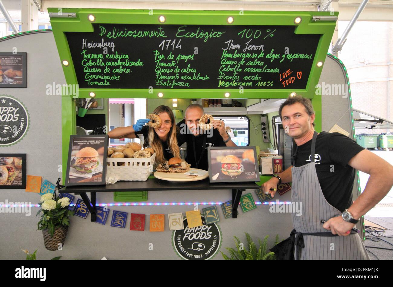 Caravan restaurant, Barcelona Degusta, Food exhibition