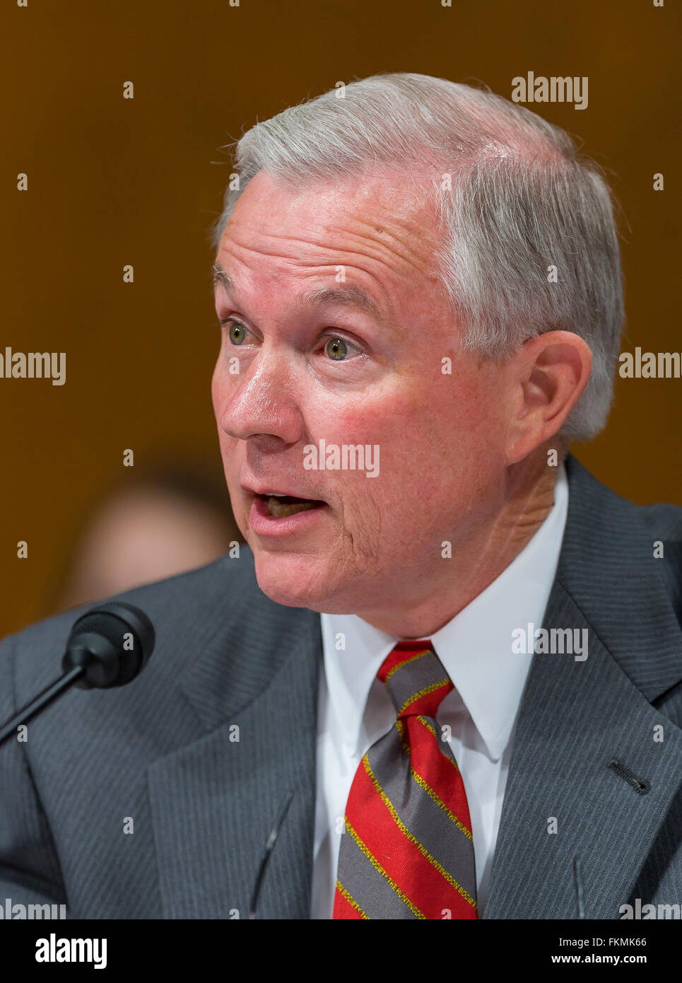 WASHINGTON, DC, USA - U. S. Senator Jeff Sessions (R-AL) - Stock Image