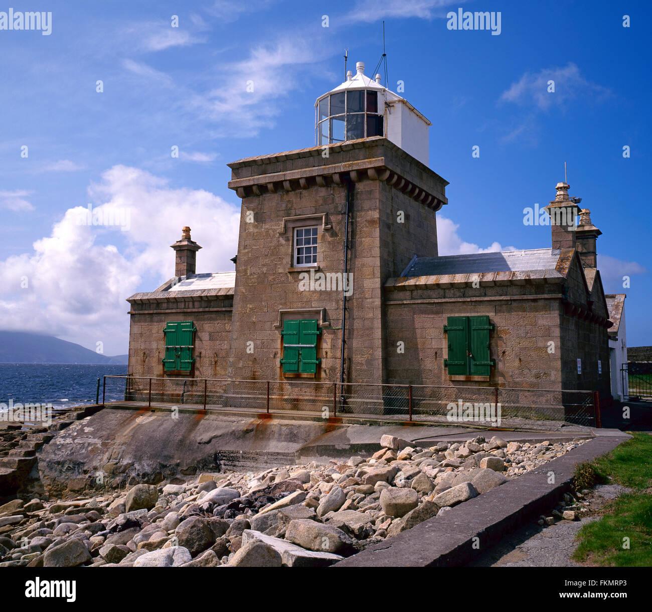 Blacksod lighthouse, Belmullet, Co Mayo, West Coast, Ireland - Stock Image