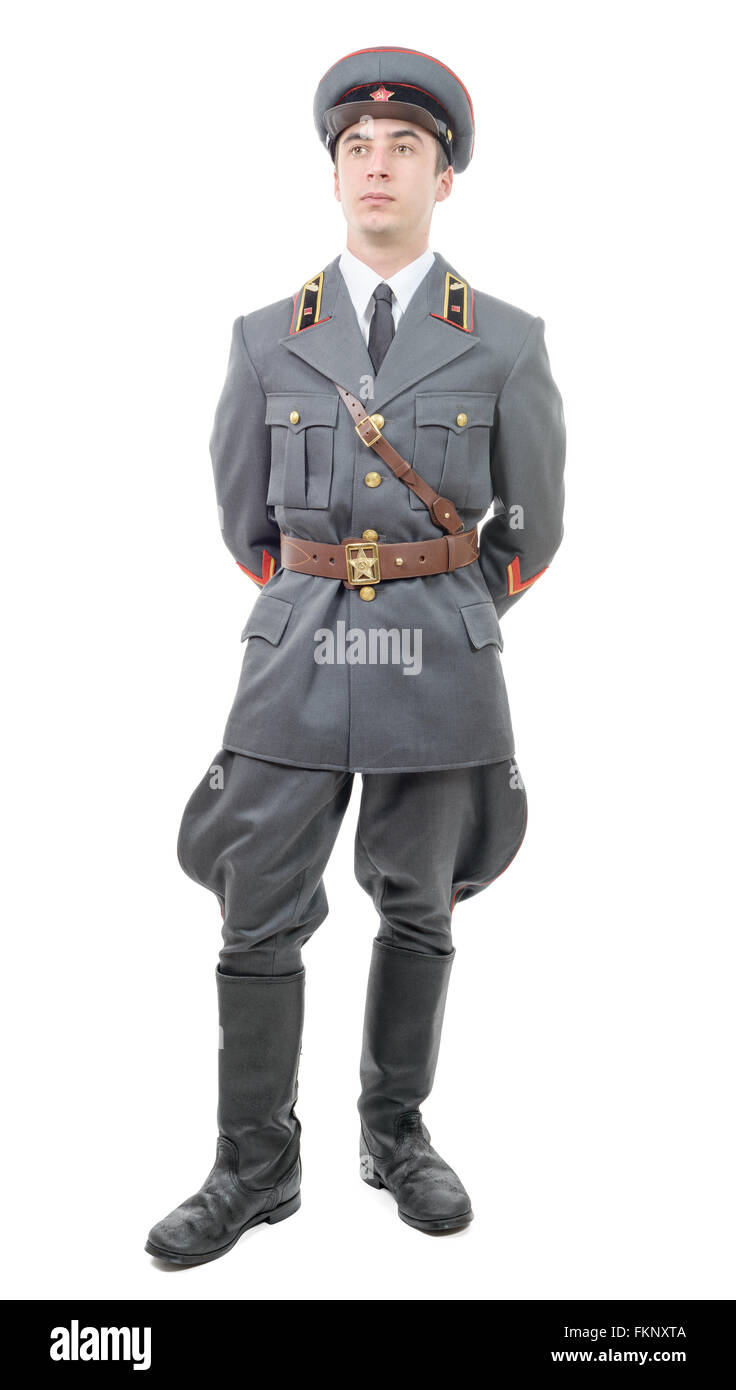 c1e57d9cdceb2 Cap Russian Army Officer Isolated Cut Out Stock Images & Pictures ...