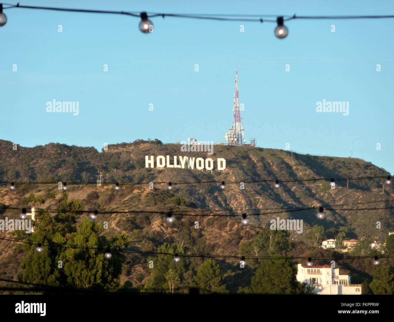 how tall are the hollywood letters sign in capital white letters 14 m and 110 10296 | hollywood sign in capital white letters 14 m tall and 110 m long on FKPPRW
