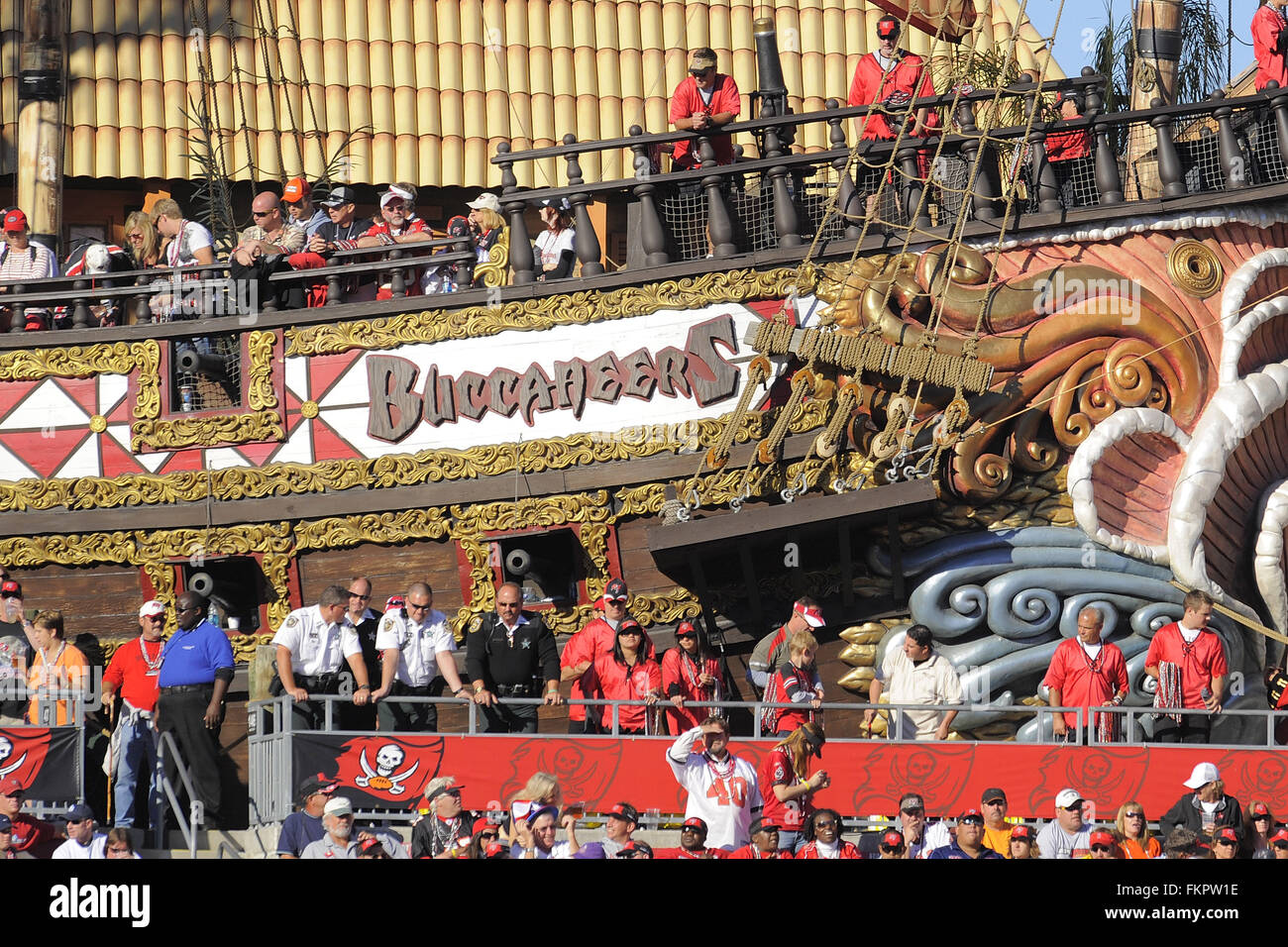 fed80eda Tampa, Fla, USA. 16th Nov, 2008. General view of Pirate Ship during ...