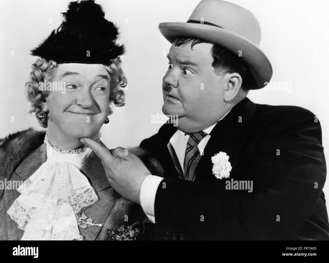 Laurel And Hardy Black and White Stock Photos & Images - Alamy