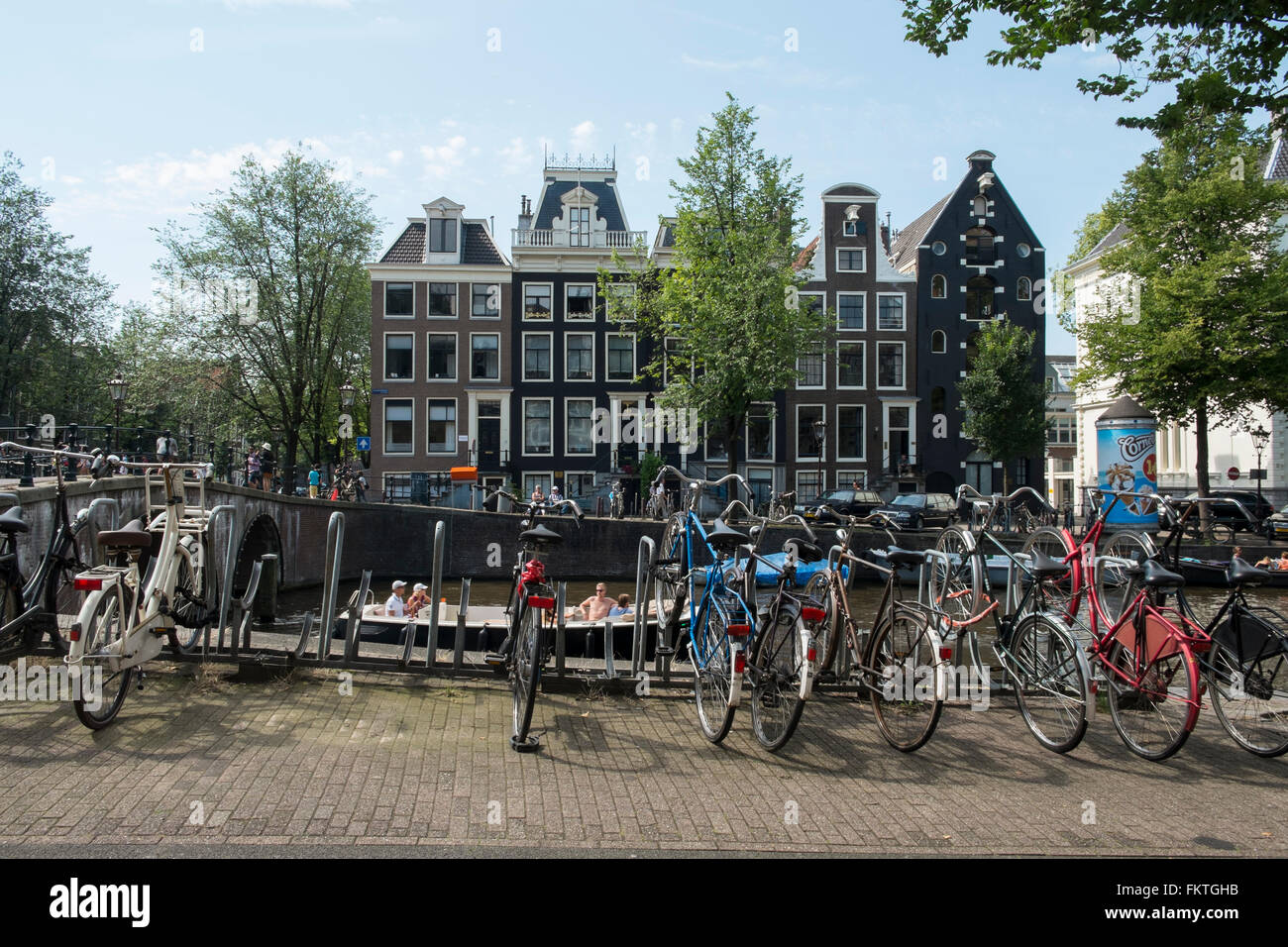 Amsterdam. The Netherlands - Stock Image