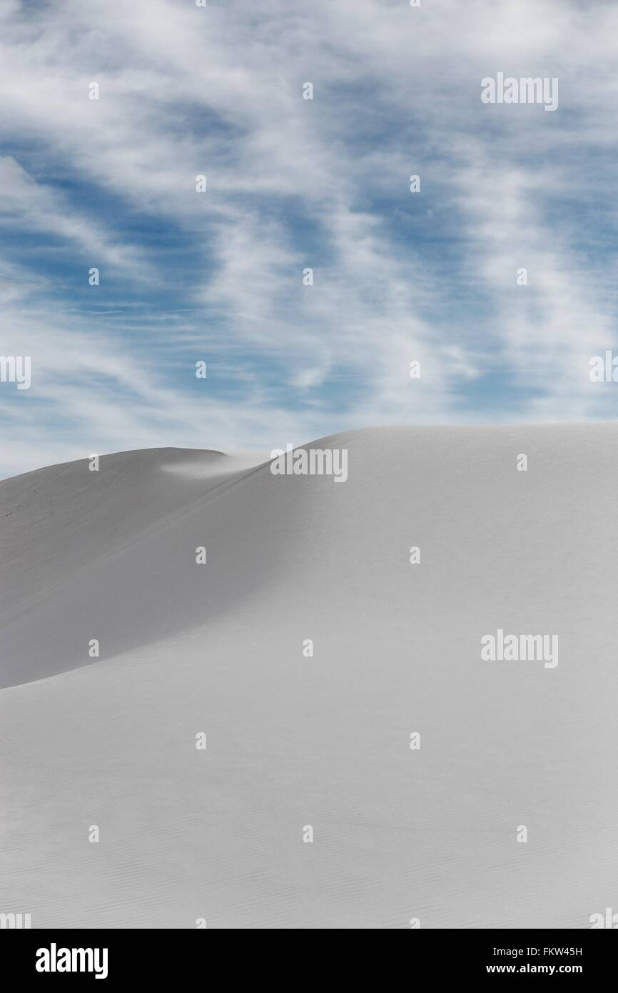 White sands, New Mexico - Stock Image