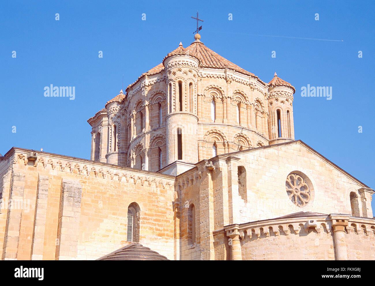 Dome. Collegiate church, Toro, Zamora province, Castilla Leon, Spain. - Stock Image