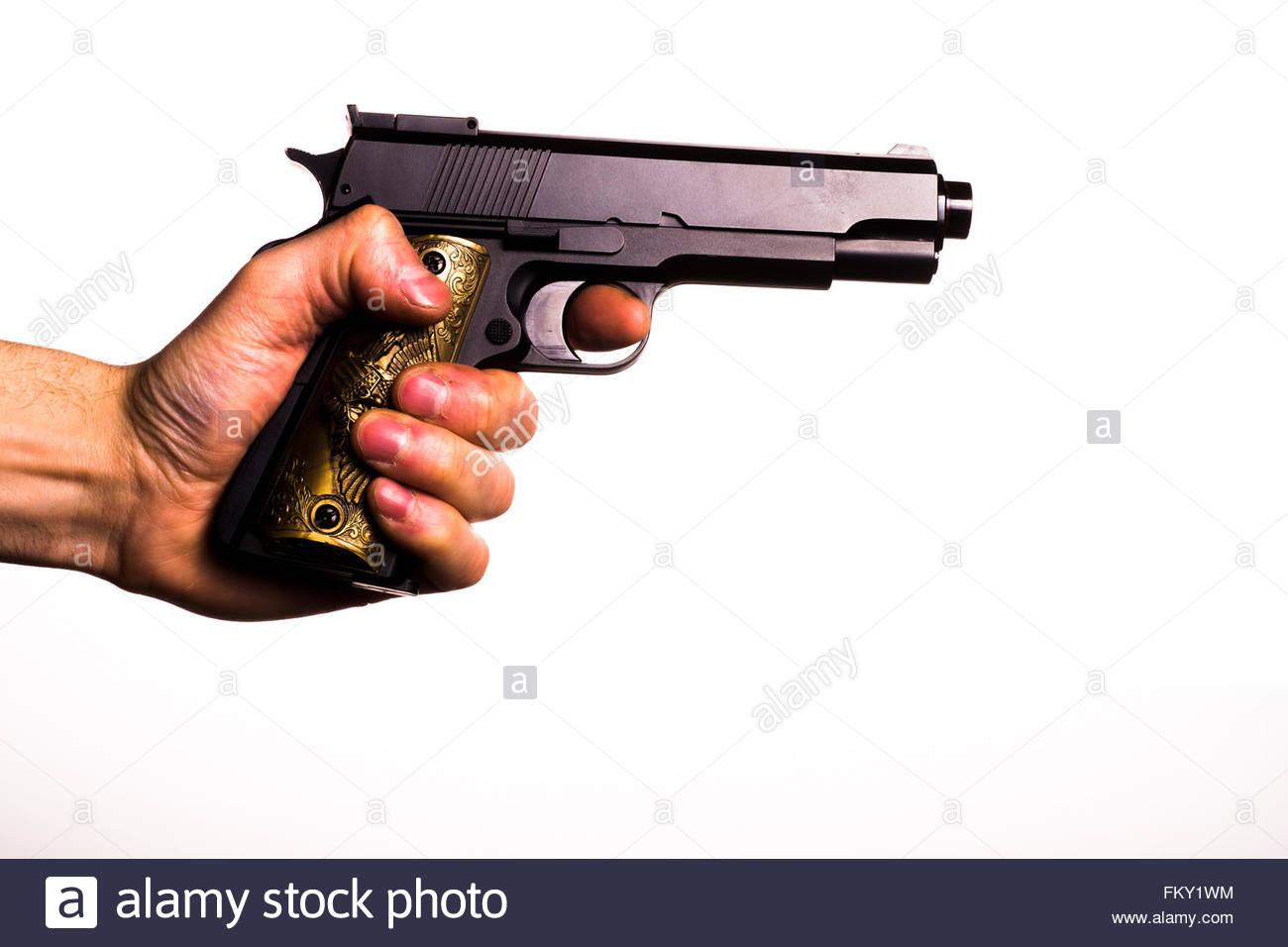 Hand Fire Pistol Stock Photos & Hand Fire Pistol Stock ...