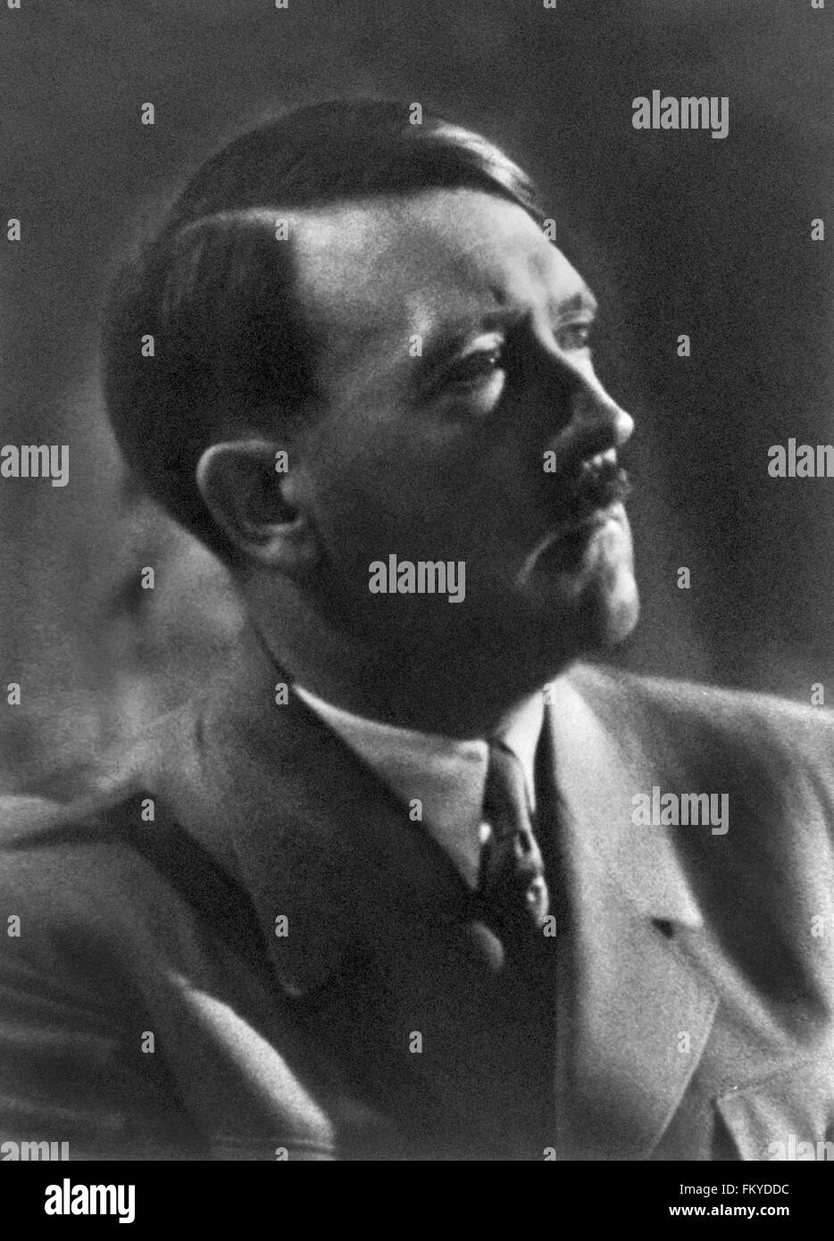 Adolf Hitler Portrait - Stock Image